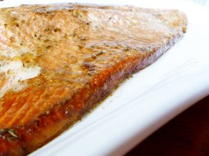 Glazed Baked Salmon