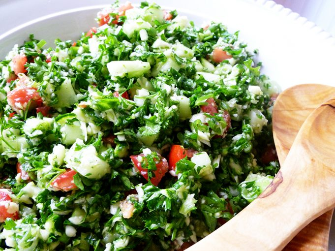 Grain-Free Tabouleh (AIP Option, Paleo, GAPS, SCD)