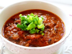 Black Bean Chili (Paleo, SCD, GAPS)