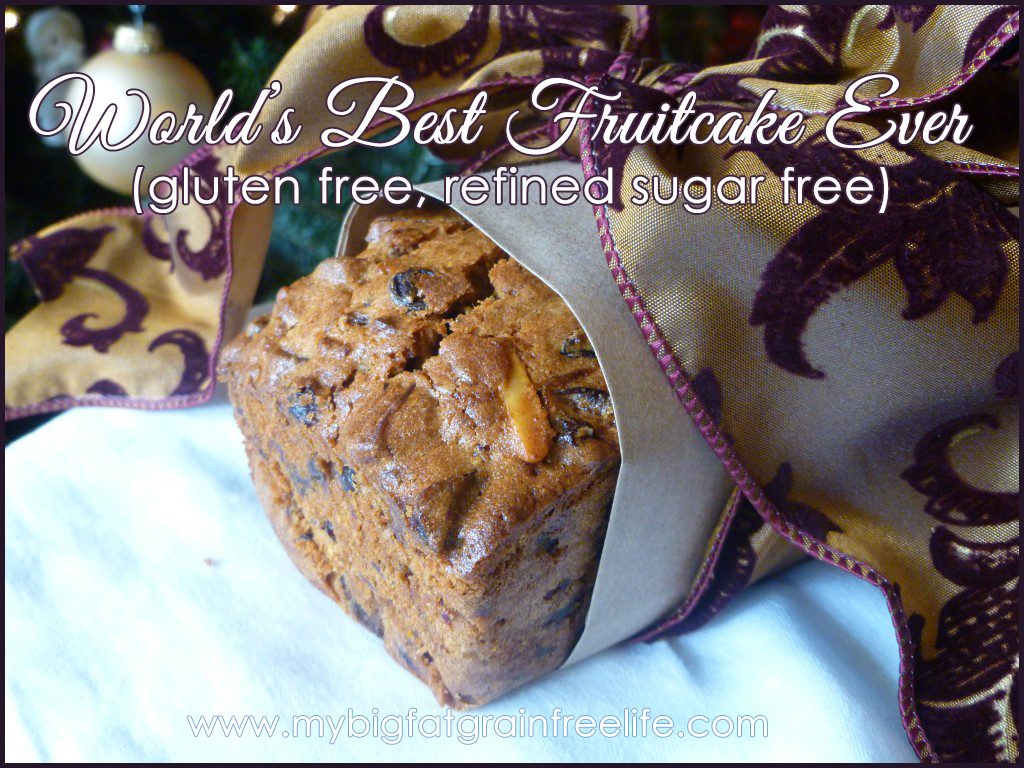 worlds best fruitcake ever gluten free refined sugar free