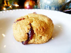 Cranberry Orange Scones (Paleo, GAPS, SCD)