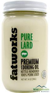 Pure Pork Lard, Free Range & Pasture Raised, 14oz