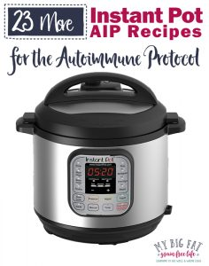23 AIP Instant Pot Recipes (Part 2)