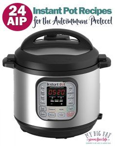 24 AIP Instant Pot Recipes (Part 1)