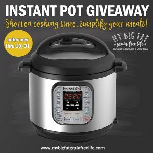 Instant Pot Giveaway & The AIP Paleo Instant Pot Cookbook
