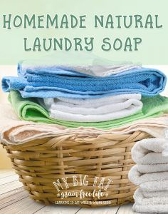 7 Recipes for Homemade Laundry Soap