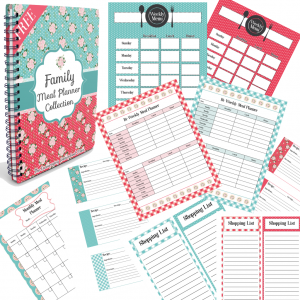 FREE Family Meal Planner Collection