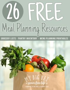 26 FREE Meal Planning Resources