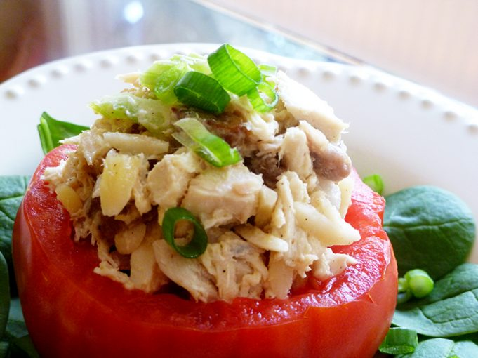 Apricot Chicken Salad with Blanched Almonds (Paleo, GAPS, SCD, dairy free)