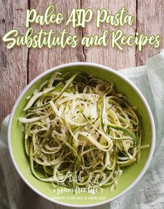 Paleo AIP Pasta Substitutes and 42 Recipes
